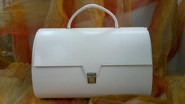 Βαπτιστική Τσάντα - Μ0198 λευκό εκρού