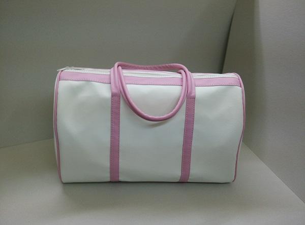 Βαπτιστική Τσάντα - T150168 εκρού ροζ