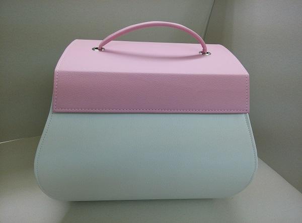 Βαπτιστική Τσάντα - Ω110178 ροζ