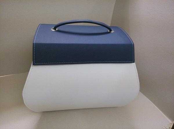 Βαπτιστική Τσάντα - Ω110178 λευκό μπλε