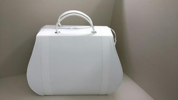 Βαπτιστική Τσάντα - Ω30198 λευκό