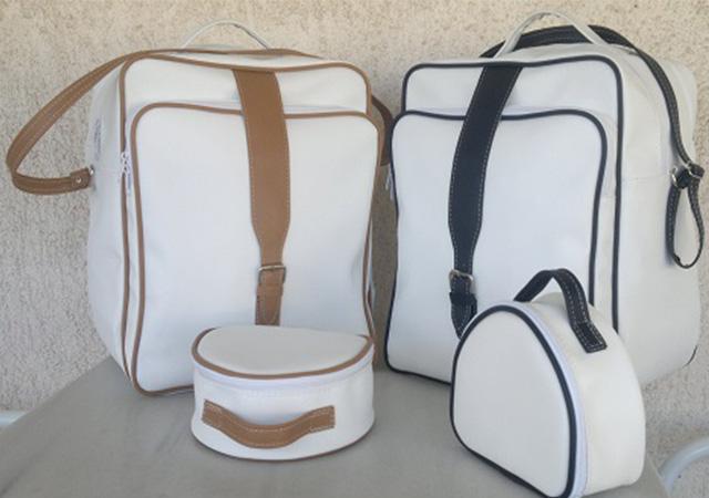 Ελληνική Βιοτεχνία STN - Βαπτιστική Τσάντα Β30021 ώμου με φερμουάρ και λουρί